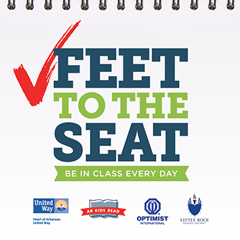 Feet to the Seat logo